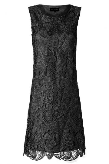 Black Label Spitzenkleid No. 60 in Schwarz