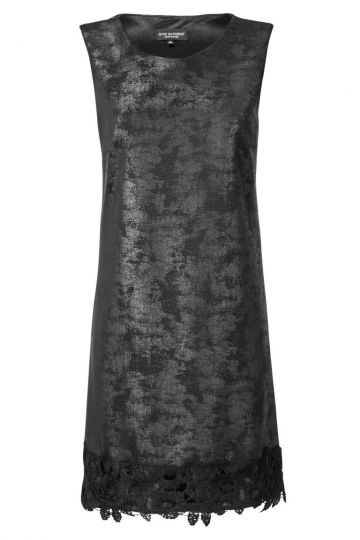 A-Linien Kleid Zenopsa in Veloursleder Optik