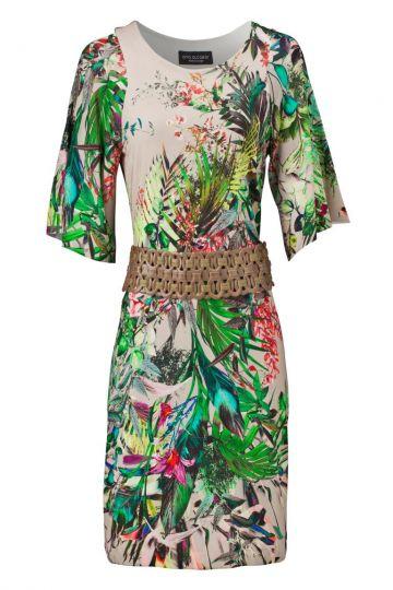 Sommerkleid Vincea mit Paradies-Print