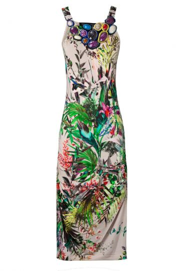 Sommerkleid Vinca mit Dschungelprint