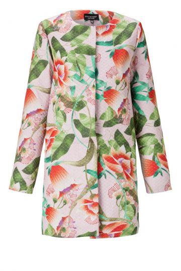 Mantel Amorika mit Blumenprint