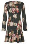 Rückansicht von Ana Alcazar Prinzess Kleid Kylovia
