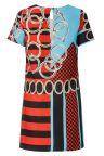 Rückansicht von ana alcazar T-Shirt Kleid Alizesy