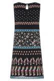 Rückansicht von Limitiertes Sommerkleid Geiny Kakadu