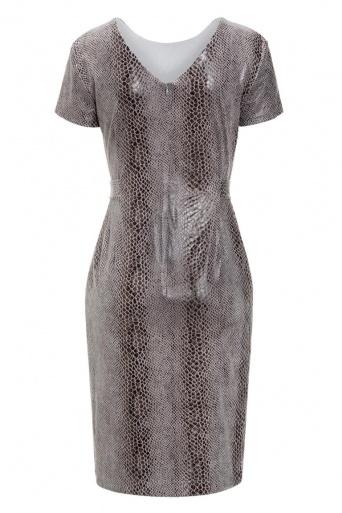 Ana Alcazar Shift Dress Kora Grey