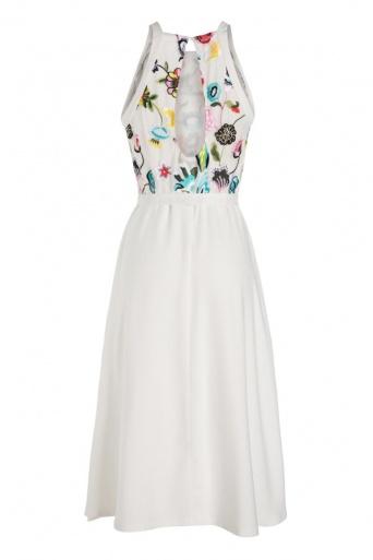 Ana Alcazar Neckholder Dress Nusa