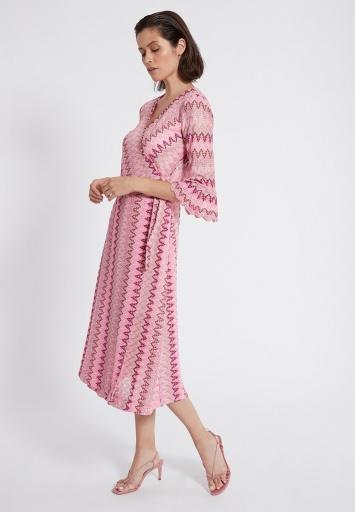 Ana Alcazar Wrap Dress Sobra