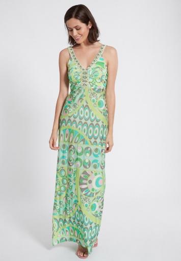Ana Alcazar Maxi Dress Teowe