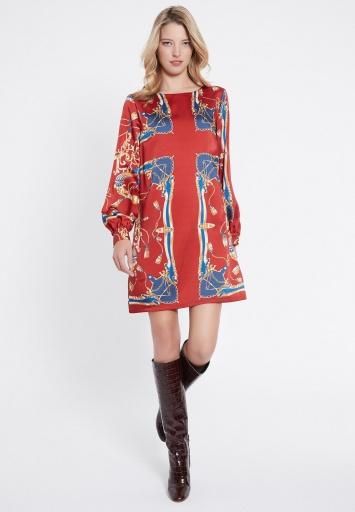 Ana Alcazar Long Sleeve Dress Vadjosa
