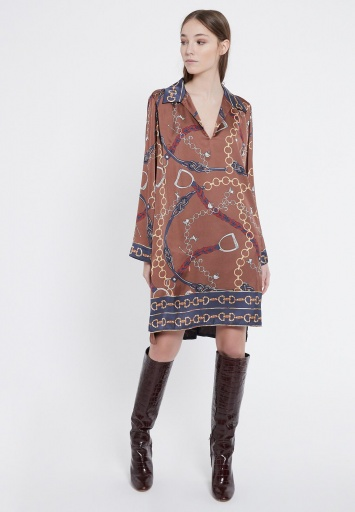 Ana Alcazar Blouse Dress Vadore