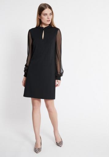 Ana Alcazar Chiffon Sleeve Dress Wammy