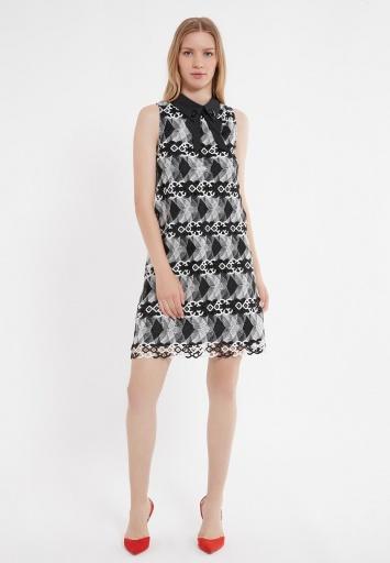 Ana Alcazar Collar Dress Zeby
