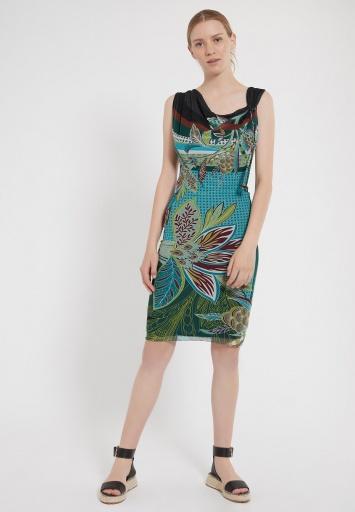 Ana Alcazar Wasserfall Kleid Zifol