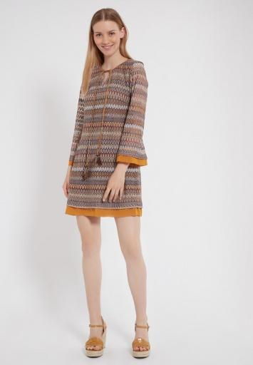 Ana Alcazar Long Sleeve Dress Zirea