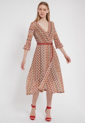 Ana Alcazar Midi Dress Zalo