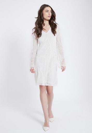 Ana Alazar Dress Agyre with Long Sleeve