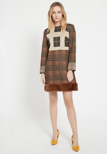 Fake Fur Dress Belmi