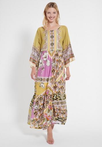 Long Boho Dress Catea