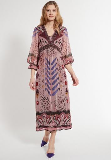 Long Hippie Dress Cava