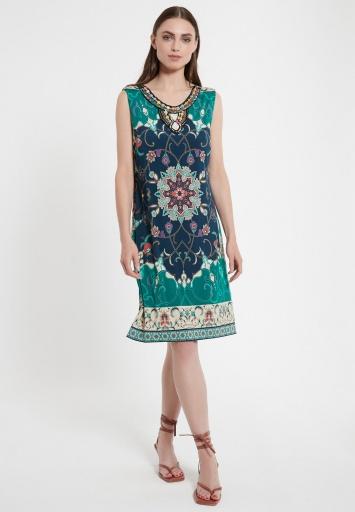 Print Dress Cehas