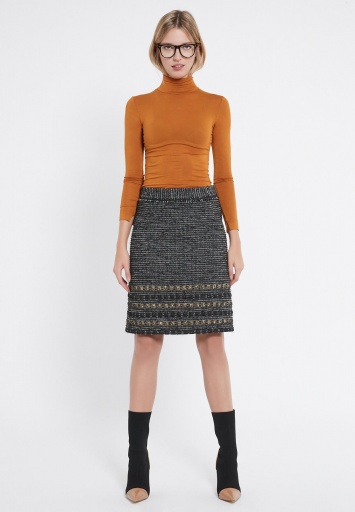 Ana Alcazar Tweed Skirt Vabajra