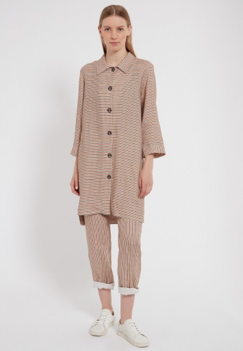 Ana Alcazar Blouse Dress Zemte Light-Beige