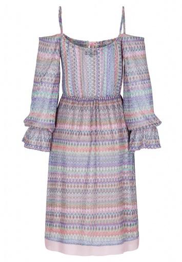 ana alcazar Off-Shoulder Kleid Bendadette
