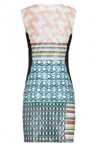 ana alcazar Black Label Sequin Dress No. 79