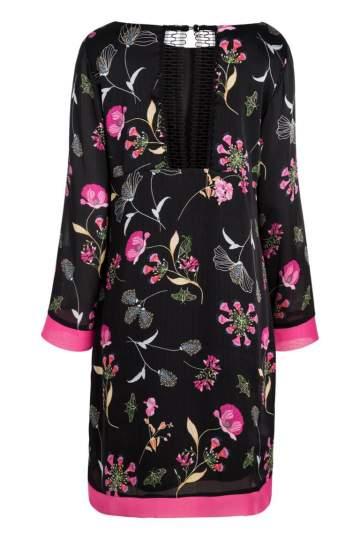 Rückansicht von Ana Alcazar Tunika Kleid Nissa