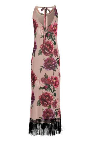 Rear view of Ana Alcazar Maxi Dress Nivanna