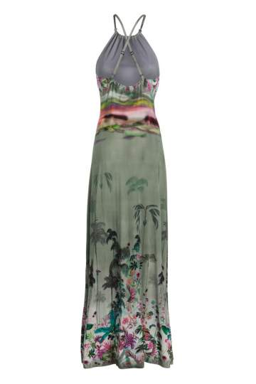 Rear view of Ana Alcazar Maxi Dress Nizany