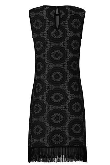 Rückansicht von Ana Alcazar A-Linien Kleid Willowy