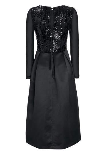 Rückansicht von Ana Alcazar Black Label Abendkleid Juvenys
