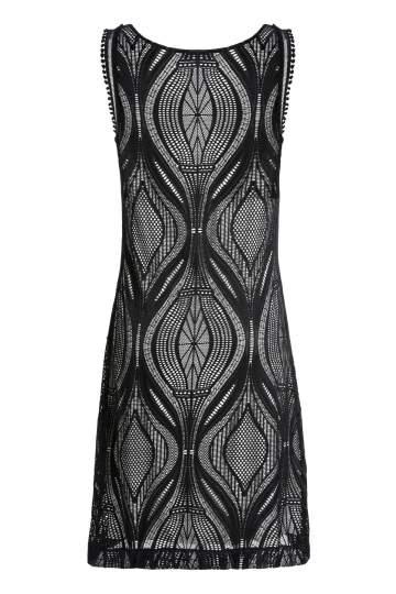 Rückansicht von Ana Alcazar A-Linien Kleid Mulakys