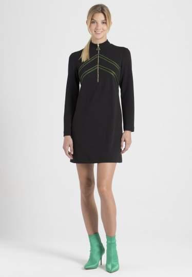 Rückansicht von Ana Alcazar Sportliches Kleid Palila