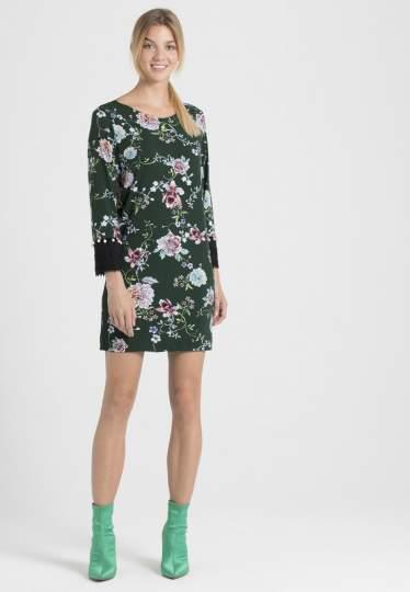 Rückansicht von Ana Alcazar Asia Kleid Polxyse