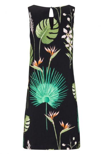 Rückansicht von Ana Alcazar A-Linien Kleid Fideley