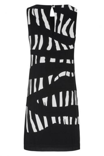 Rückansicht von Ana Alcazar Limitiertes A-Linien Kleid Geina