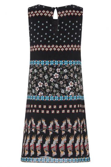 Rückansicht von Ana Alcazar Limitiertes Kakadu Kleid Geiny