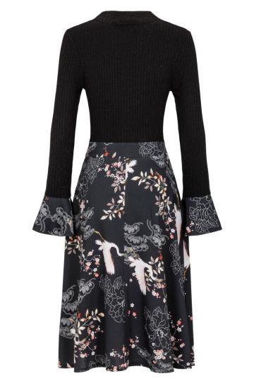 Rückansicht von Ana Alcazar Empire Kleid Kimella