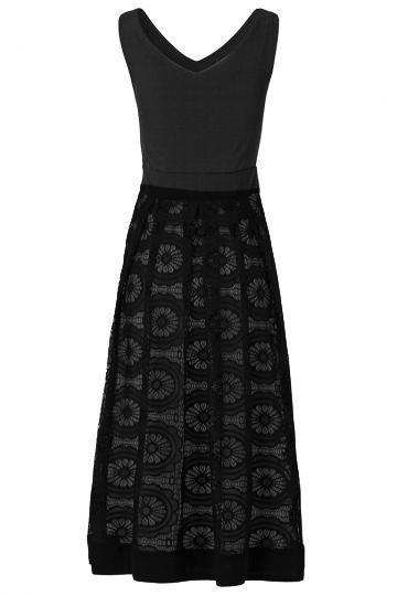 Rückansicht von Ana Alcazar Prinzess Kleid Willewa