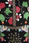 Vorderansicht von Ana Alcazar Limited Edition Blumenkleid Meijana  angezogen an Model