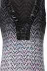 Front View of ana alcazar Knitted Maxi Dress Ademolesty  worn by model