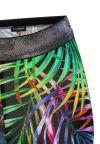Front View of Ana Alcazar Leggings Niktos Multicoloured  worn by model