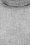 Detailansicht von Grauer Rollkragen Pullover Dunika | Ana Alcazar