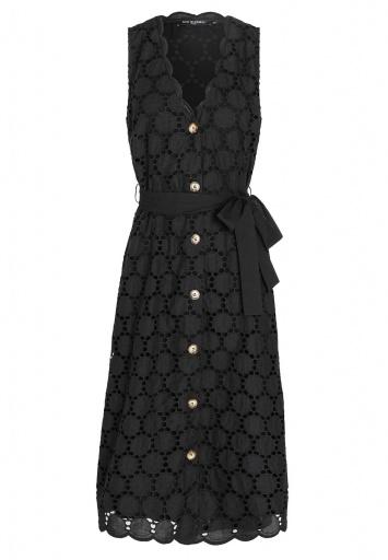 Ana Alcazar Sleeveless Dress Zeky Black