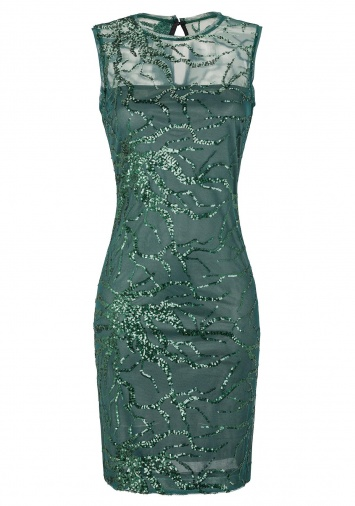 Ana Alcazar Black Label Sequin Dress No. 89