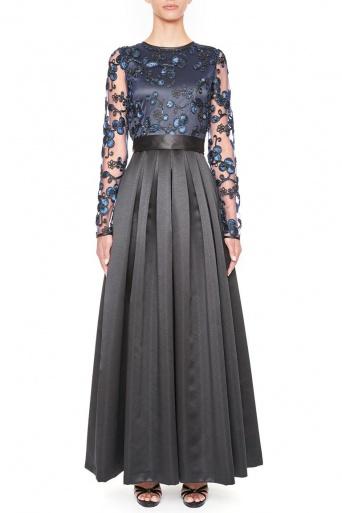 Ana Alcazar Black Label Luxury Evening Dress Juvendira