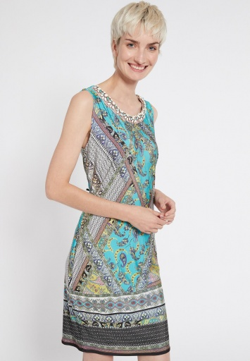 Ana Alcazar Sleeveless Dress Setane