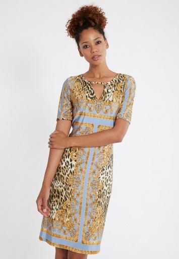 Ana Alcazar Shortsleeve Dress Silvore